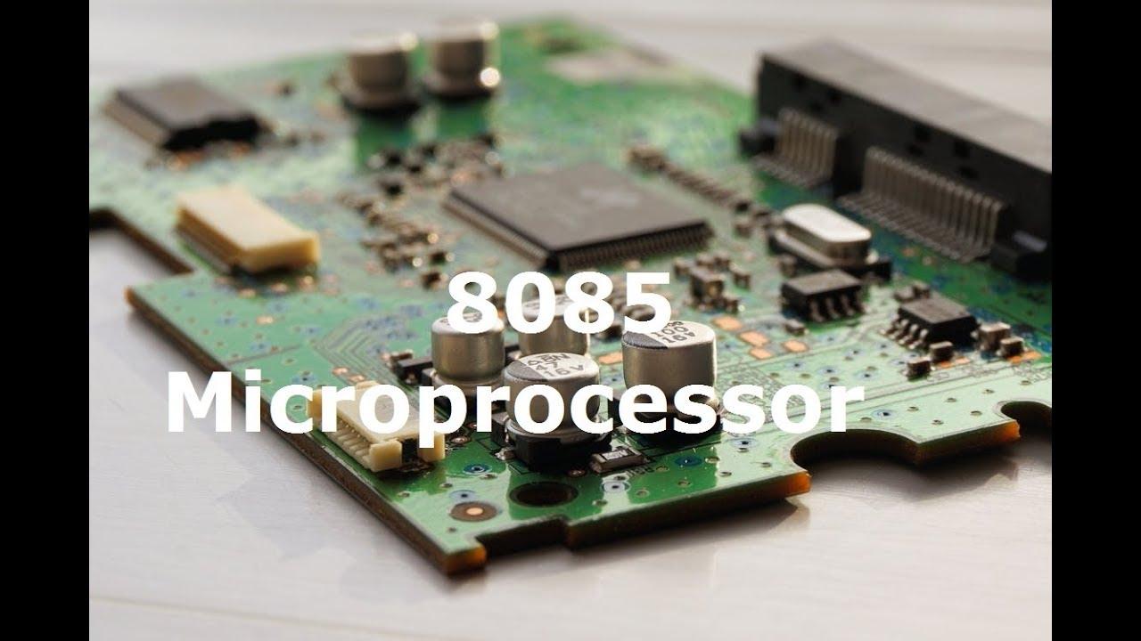 8085 microprocessor programming tutorial part 5   (series, loops.
