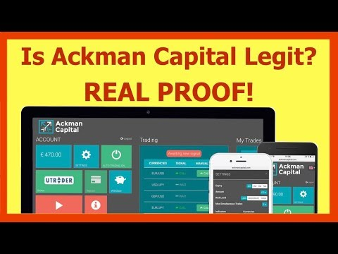 Ackman Capital Trader Review | Outstanding Ackman Capital Results