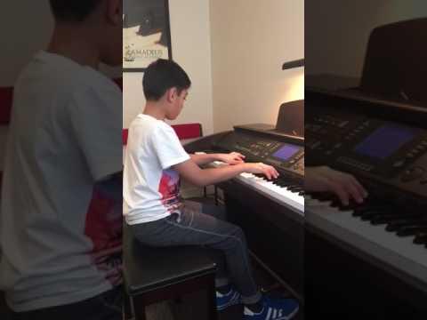 Amadeus music academy - Piano Lesson, Isaac Colclough