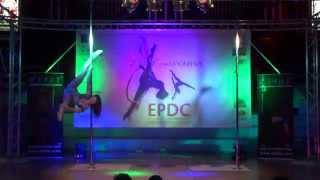 Chloe Anderson - WINNER Expert Pole - Emma's Pole Dancing Championship 2014 [HD]