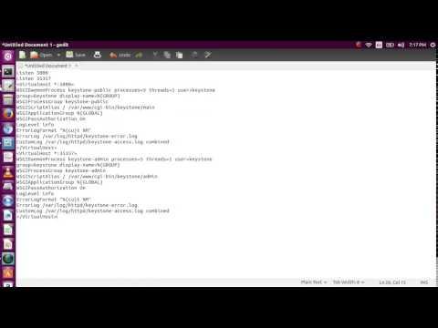 OpenStack Kilo: Installation on Cent OS 7 ( Identity Service - Keystone )