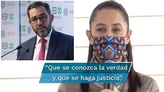 La jefa de Gobierno comentó que estarán apoyando en la misma, aunque ésta se realiza en el periodo donde Orta Martínez estuvo en la policía federal