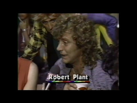 MTV Interview - Led Zeppelin & Phil Collins (MTV - Live Aid 7/13/1985)