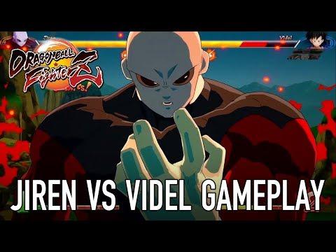 Dragon Ball FighterZ - PS4/XB1/PC/SWITCH - Jiren VS Videl (Gameplay)