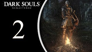 "Dark Souls Remastered: The Magic Run pt2 - Unlocking ""The Back Door"" and Taurus Demon"