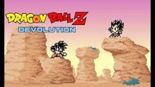 dragon ball z devolution parte 2(la derrota de vegetta)