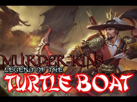 TURTLE BOAT - Murder-Kins' First Yi Sun-shin Gameplay Mobile Legends Bang Bang