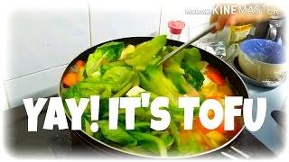 how to make simple tofu veggie soup vegan