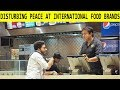 Disturbing Peace at Food Brands in Bojpuri Language - Lahori PrankStar
