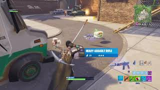 100th Solo Win With the New Whistle Warrior Skin - Fortnite Battle Royale Gameplay