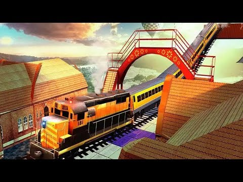 Impossible City Train Driving Game #Free Games Download #Train Games To Play #Games For Android
