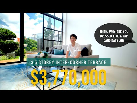 A Look Inside A $3,770,000 Inter-Corner Terrace at Figaro Street   Singapore Landed