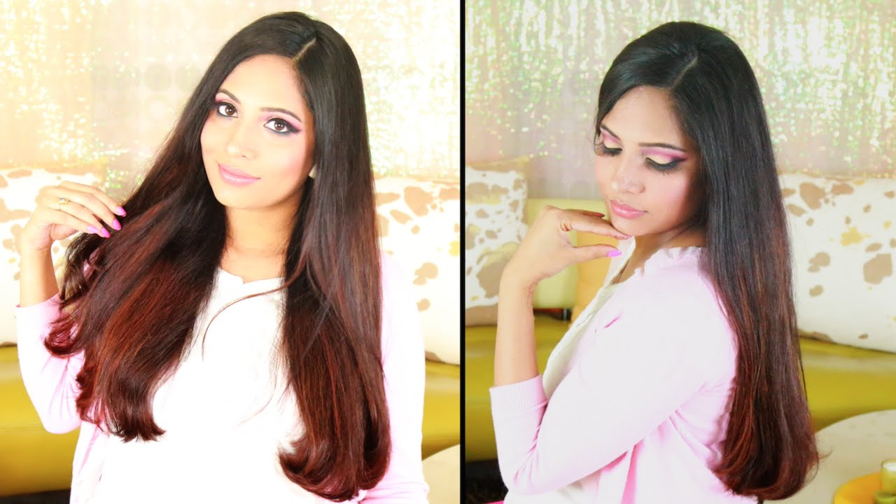 How To Make Thick Hair Straight Naturally