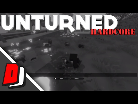 Unturned Hardcore - HE PUSHED MY CAR!!! - Milton State Map Gameplay