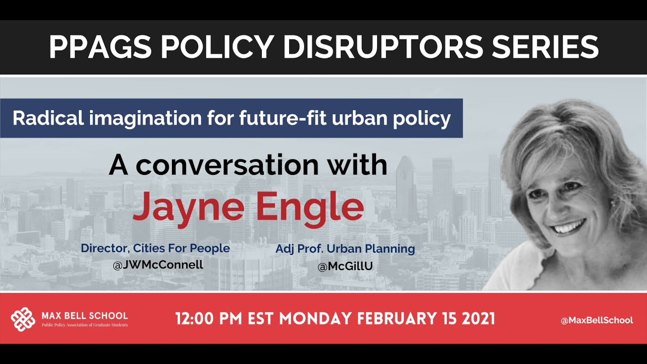 Policy Disruptors - Radical Imagination for Future Fit Urban Policy