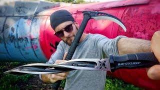 Zombie Apocalypse Weapons: Tactical Kama, M48 Cyclone, Ninja Star, Throwing Knives