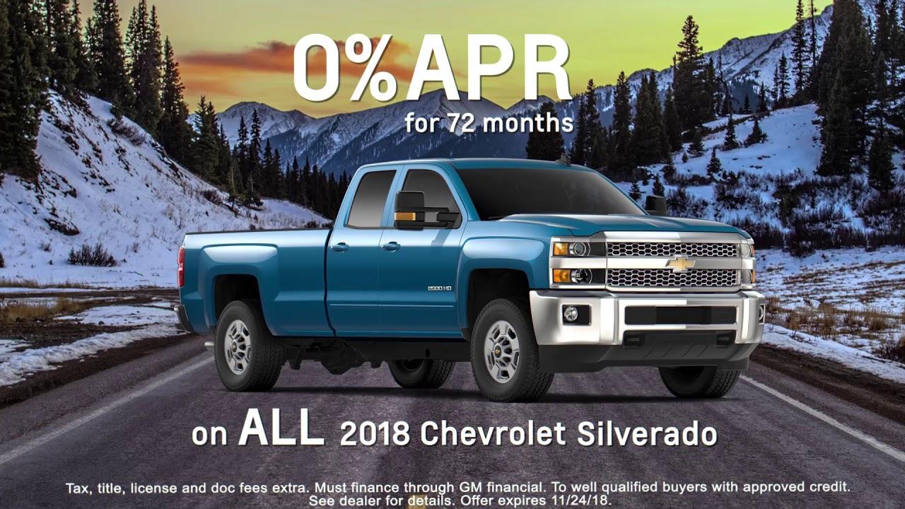 Black Friday Chevy Silverado 1500 Deals
