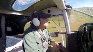 Luscombe Flying to MERCEY HOT SPRINGS, Ca.