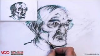 Learn How to Draw an Old Man