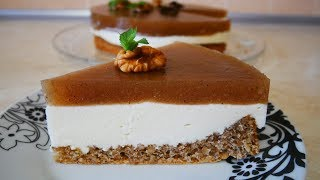 Яблочный торт ВКУС ОСЕНИ невероятное сочетание ВКУСОВ простой рецепт торта