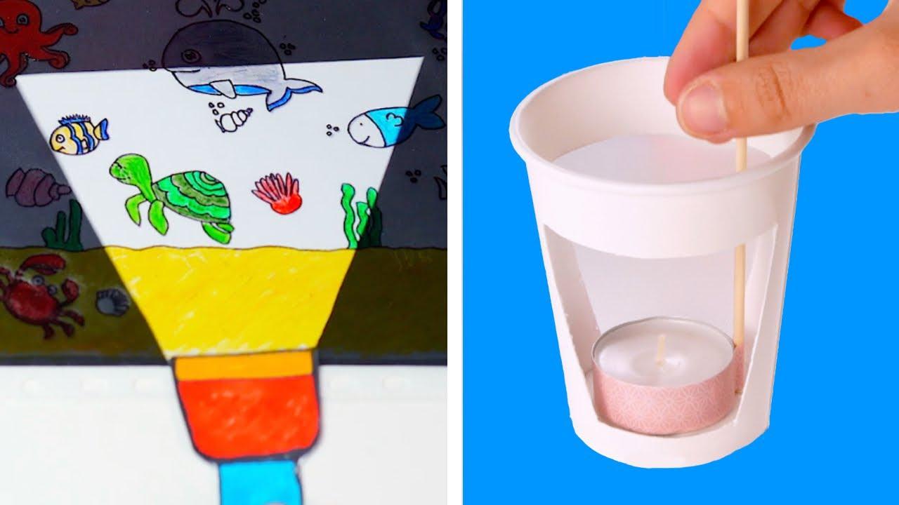 15 простых идей, которые приведут детей в восторг | Поделки | Идеи для детского творчества