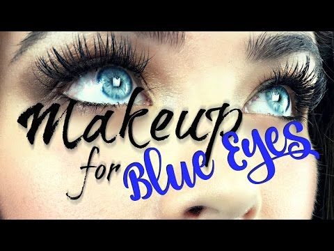 5 Makeup Tips for Blue Eyes
