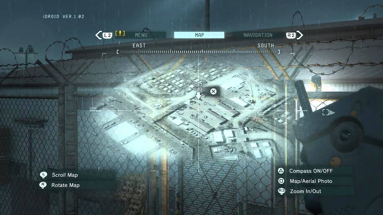 Metal Gear Solid 5: Ground Zeroes XOF Patch locations