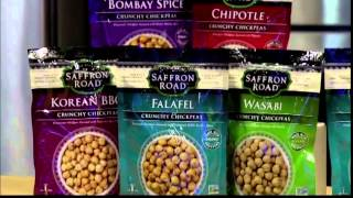 Saffron Road Crunchy Chickpeas Featured on The Daily Buzz