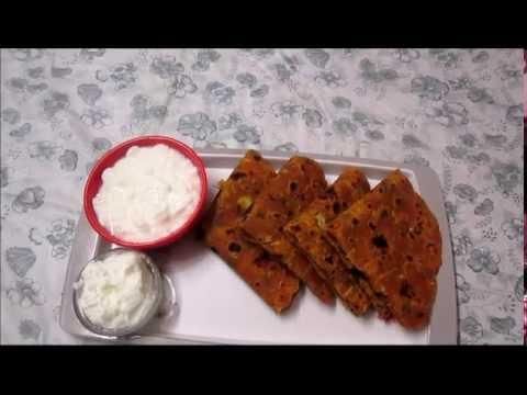 how to make masala paratha