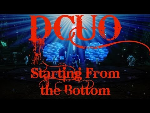 DC Universe Online-Starting from the Bottom