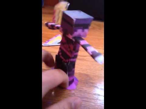 Minecraft Papercraft Universe SkyDoesMinecraft