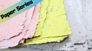 HOW TO MAKE PAPER INCLUDING MOULD and DECKLE TUTORIAL from Recycled Scraps DIY