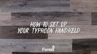 Feniex Flash // How to Set Up Your Typhoon Handheld