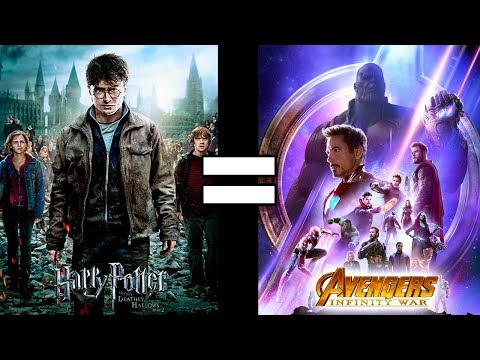 24 Reasons Harry Potter and the Deathly Hallows 2 & Avengers Infinity War Are The Same Movie