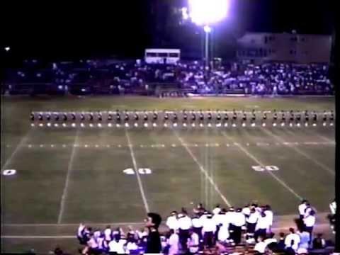 "Benton High School Pep Steppers ""Alabama Jubilee"" 1992"