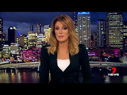 Seven News Queensland Cyclone Debbie 27 Mar 2017
