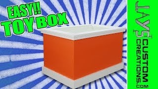 How To Make A Toy Box - 139