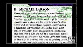 Unit 6 чтение текста Game Show Scandals часть 2
