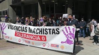 Concentración en Oviedo contra las violencias  machistas.