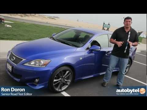 2012 Lexus IS 350 F SPORT Test Drive & Luxury Car Video Review