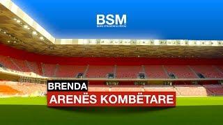 Gambar cover Brenda stadiumit të ri Arena Kombëtare   Tirana - Albania [Drone video   4K Ultra HD]