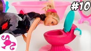 Барби отравили.Мультфильм Барби на русском.Игры Барби Серия 10