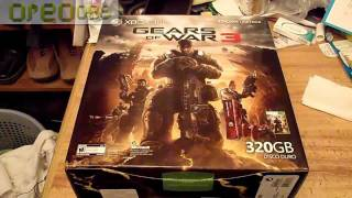 Gears of War 3 Xbox 360 Bundle Pack Unboxing!! HD (Esp)