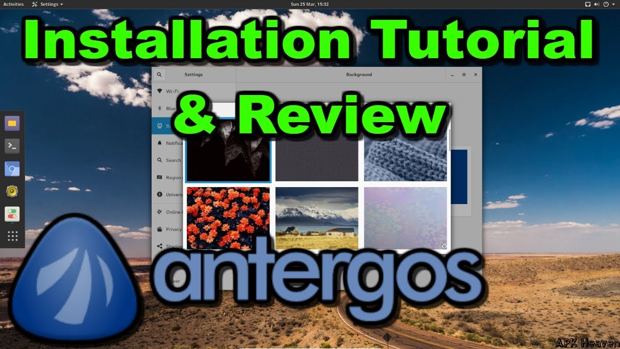 Antergos 2018 Installation Guide and Quick Look Inside ...