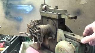 Antique  Model Metal Shaper Model  (like Atlas) Part 1 Tubalcain