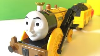 【unbox】plarail Thomas And Friends Stephen 開封走行動画  Ts-15-2 スティーブン (00761 Z)