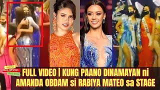 FULL VIDEO ng PAGYAKAP ni Amanda Obdam kay Rabiya Mateo CAUGHT ON CAMERA