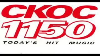 CKOC aircheck - Awkward DJ moment