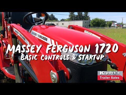 Repeat Massey Ferguson GC Series: DL95 Loader Skid Steer