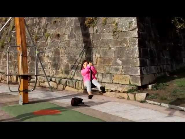 La Tyrolienne infernale de Baiona